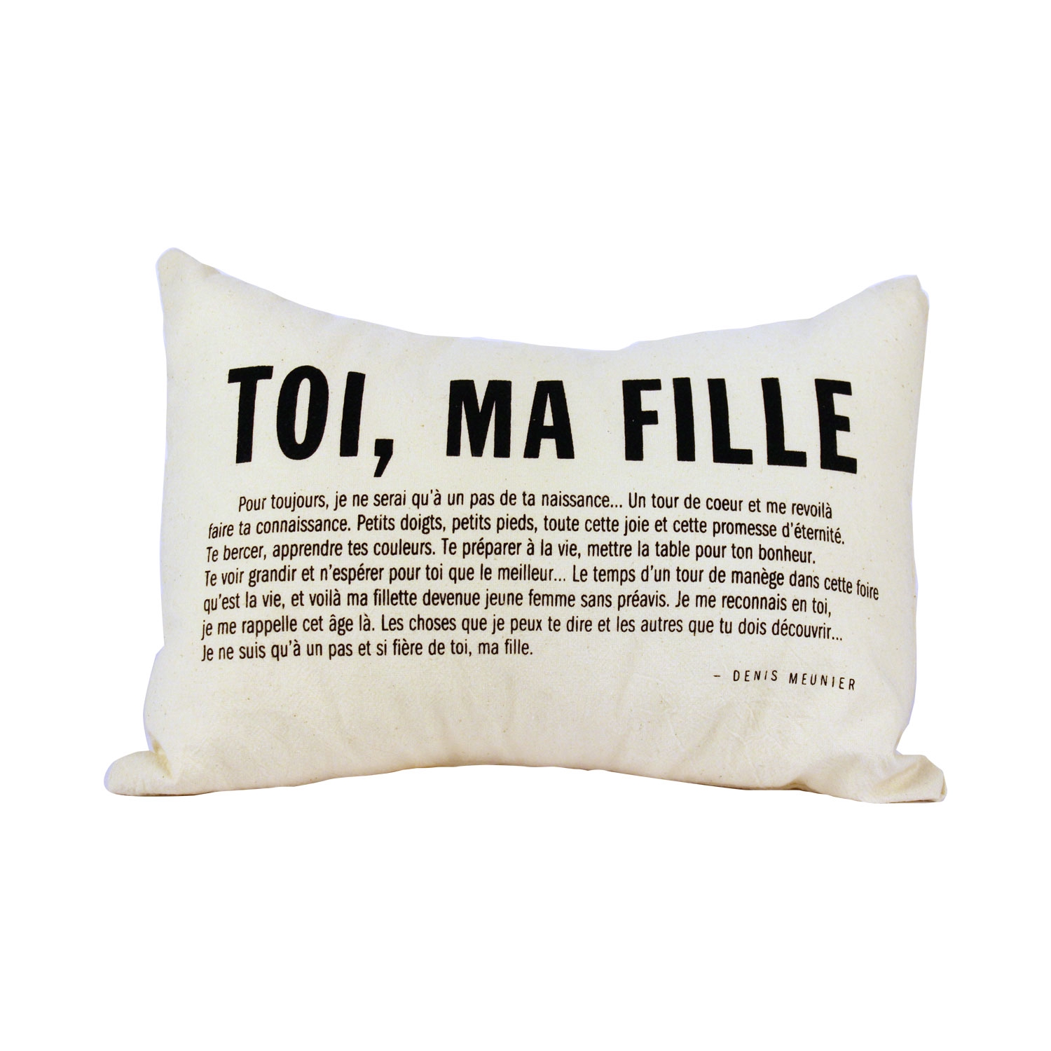 Coussin Toi Ma Fille