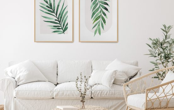 Our tips for dressing the walls